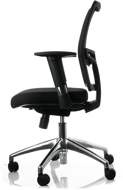 Meest Comfortabele Bureaustoel.Comfortabele Bureaustoel Proline Go Met Netbespannen Rugleuning Bij