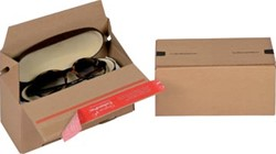 Colompac Eurobox Size S, binnenformaat 195 x 95 x 90 mm, bruin