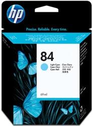 HP 84 Inktcartridge C5017A licht cyaan