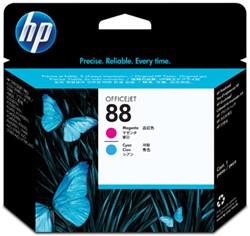 HP 88 Printkop C9382A cyaan + magenta