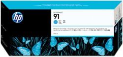 HP 91 cartridge C9467A cyaan inhoud 775 ml