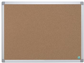 Lijst 60 X 90.Prikbord Kurk Met Aluminium Lijst 60 X 90 Cm