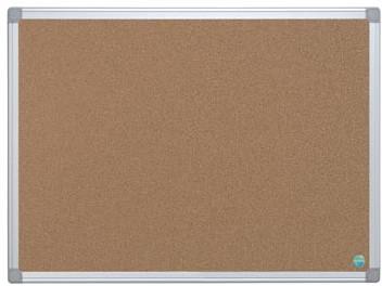 Prikbord kurk met aluminium lijst 60 x 90 cm
