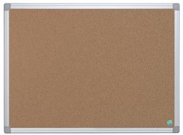 Prikbord kurk met aluminium lijst 90 x 120 cm