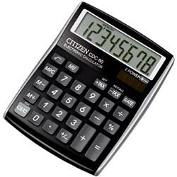 Citizen Allrounder bureaurekenmachine CDC-80 zwart