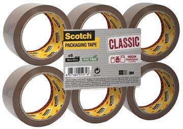 Scotch verpakkingsplakband 50mm bruin