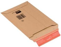 Boekverpakking kartonnen envelop Colompac 18,5 x 27 x 5 cm wit pk/20