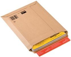Boekverpakking kartonnen envelop Colompac 21,5 x 30 x 5 cm wit pk/20