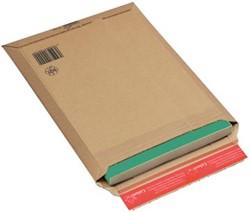 Boekverpakking kartonnen envelop Colompac 29 x 40 x 5 cm wit pk/20