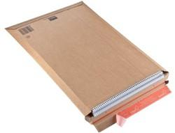 Boekverpakking kartonnen envelop Colompac 34 x 50 x 5 cm wit pk/20