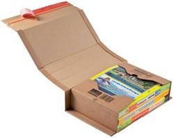 Wikkelverpakking Colompac 32,5 x 25 x 8 cm bruin pk/20