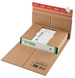 Wikkelverpakking Colompac 30,5 x 23 x 9,2 cm bruin pk/20