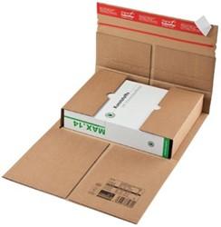 Wikkelverpakking Colompac 43 x 31 x 9 cm bruin pk/20