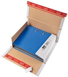 Wikkelverpakking voor ordner 32 x 29 x 3,5 - 8cm bruin pk/20