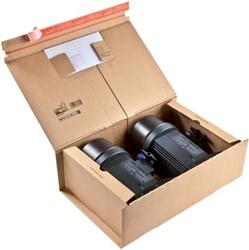 Wikkelverpakking Colompac 46 x 31 x 16 cm met pocket voor envelop pk/10