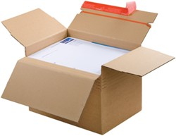 Kartonnen dozen met automatische bodem