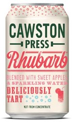 Cawston Press frisdrank Rhubarb, blikje van 33 cl, pak van 24