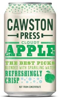 Cawston Press Cloudy Apple blik 33cl pak van 24 stuks