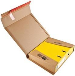 Wikkelverpakking voor ordner  32 x 29 x 3,5 - 8cm bruin pk/10