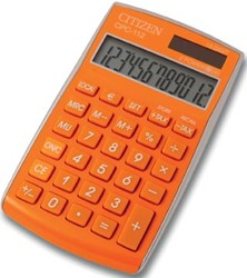 Citizen Allrounder zakrekenmachine CPC-112 oranje