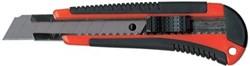 Pacplus Heavy-Duty cutter 18 mm zwart/rood