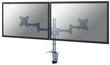 Monitorarm 2 schermen Newstar FPMA-D1330 zilver