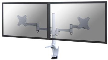 Newstar FPMA-D1330D monitorarm 2 schermen wit