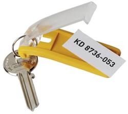 Durable sleutelhangers Key Clip geel