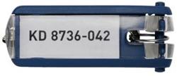 Durable sleutelhangers Key Clip blauw