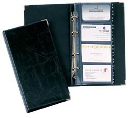 Durable Visitekaartmap Visifix® 2383 zwart