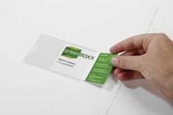 Durable Etui Pocketfix 74 x 105 zakje met 10 stuks opening korte zijde