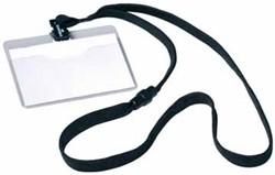 Badge met textielband