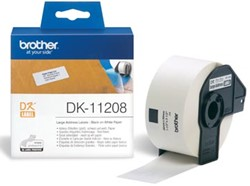 Brother labels DK-11208 grote adres etiketten 38 x 90 mm 400 labels