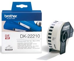 Brother labels  DK-22210 continue label 29 mm x 30,48 m