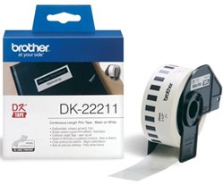 Brother labels DK-22211 continue label  29 mm x 1524 m plastic