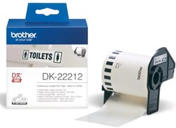 Brother labels DK-22212 continue label  62 mm x 1524 m plastic