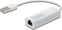 DIGITUS netwerkadapter USB 2.0