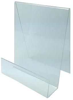 Boekenstandaard plexiglas A5 195 x 150 mm