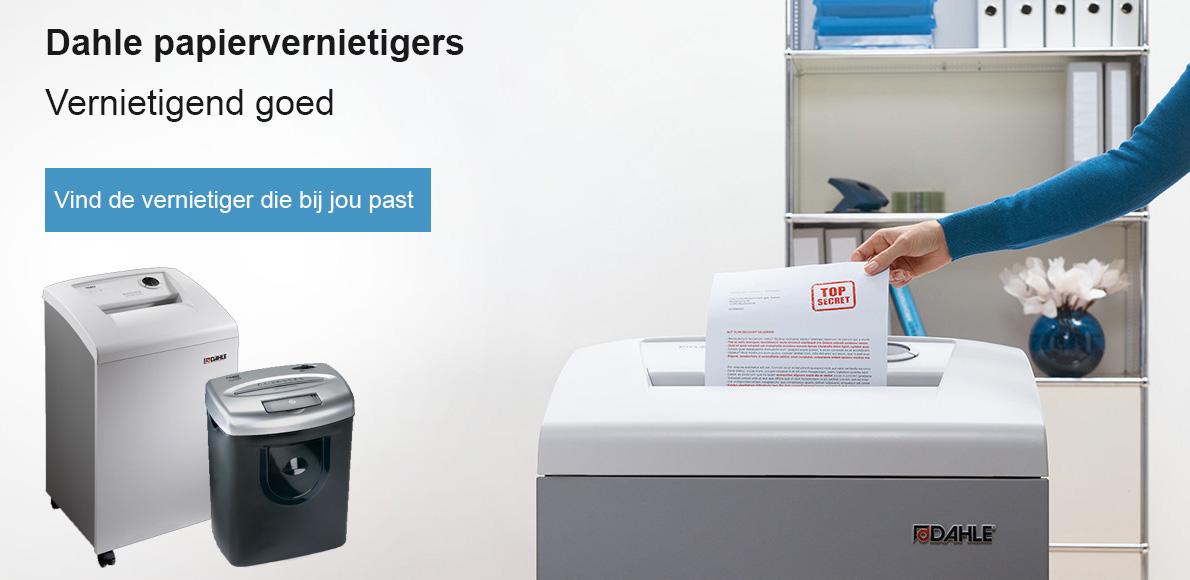 Dahle papiervernietigers