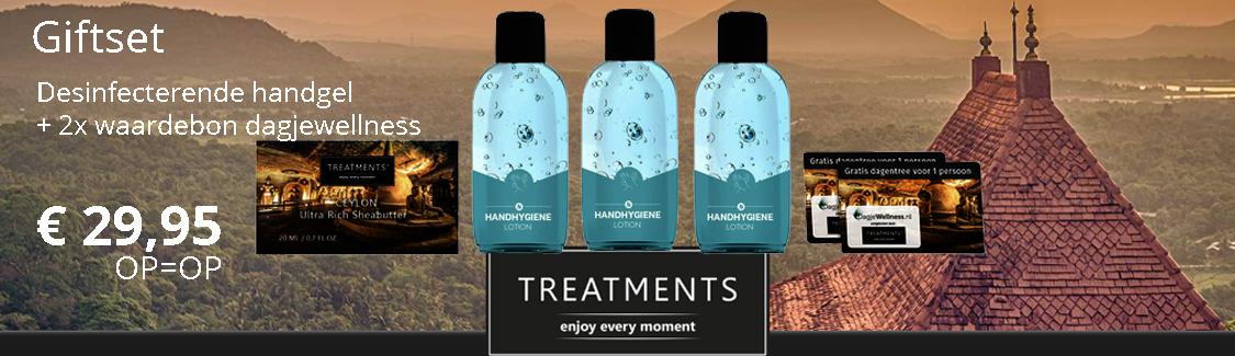 Desinfecterende-handgel-treatments