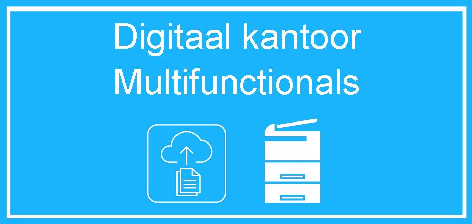 Digitaal kantoor, OCR scan software, Konica Minolta multifunctional, led printer, laserprinter, inktjet printer PDF software, pdf maken