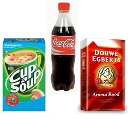 Drank en eetwaren