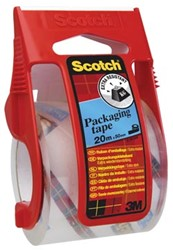 Scotch taperoller en 1 rol transparante tape