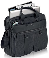 0c564a59901 Solo laptoptas Executive Bradford voor 15,6 inch laptops, zwart