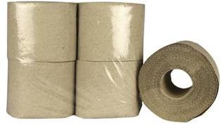 Toiletpapier, 1-laags, 250 vellen, pak van 64 rollen