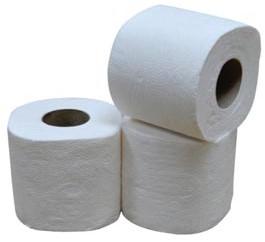Toiletpapier, 2-laags, 400 vellen, pak van 40 rollen
