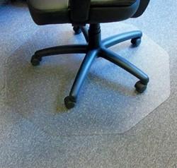 Cleartex vloermat Chairmat, 9-hoek met antislip ondergrond, ft 98 x 98 cm