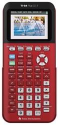 Texas grafische rekenmachine TI-84 Plus CE-T rood