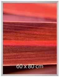 Sigel aluminium wissellijst met diep profiel gallery, bold, ft 60 x 80 cm