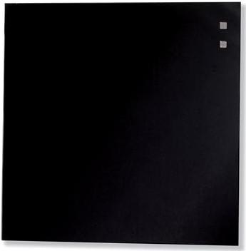 Magnetisch glasbord Naga zwart 35 x 35cm